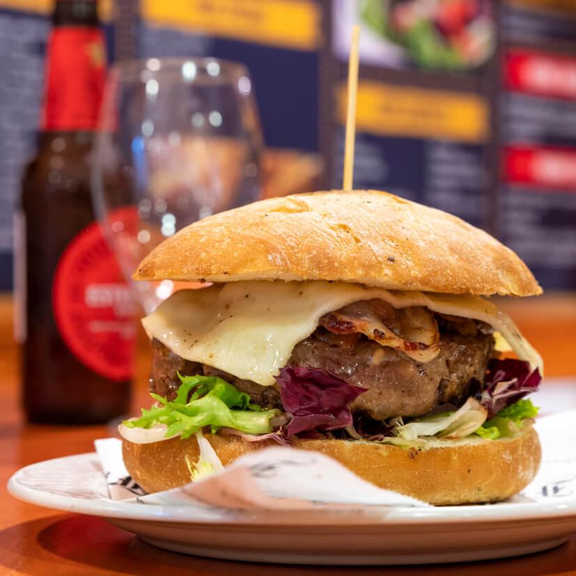 frankfurt parera imatge de la hamburguesa completa